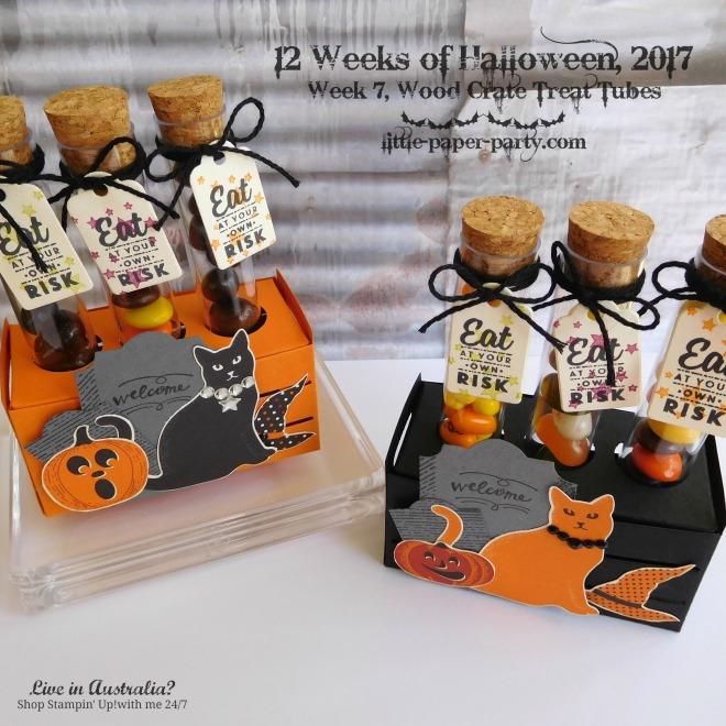 Little Paper Party, 12 Weeks of Halloween 2017, Spooky Cat Bundle, Wood Words Bundle, #2