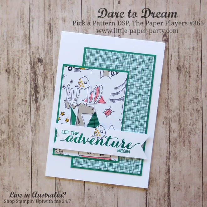 Little Paper Party, Dare to Dream, Pick a Pattern DSP, The Paper Players #363, #1.jpg