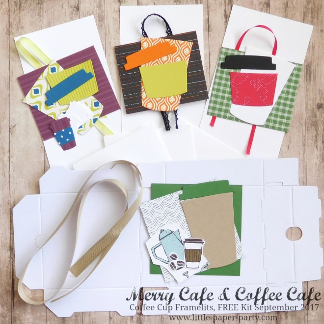 Little Paper Party, Merry Cafe, Coffee Cafe, Coffee Cup Framelits, FREE Kit September 2017, #1.jpg