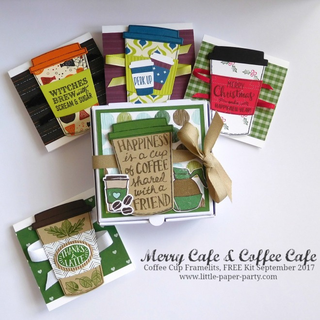 Little Paper Party, Merry Cafe, Coffee Cafe, Coffee Cup Framelits, FREE Kit September 2017, #5.jpg