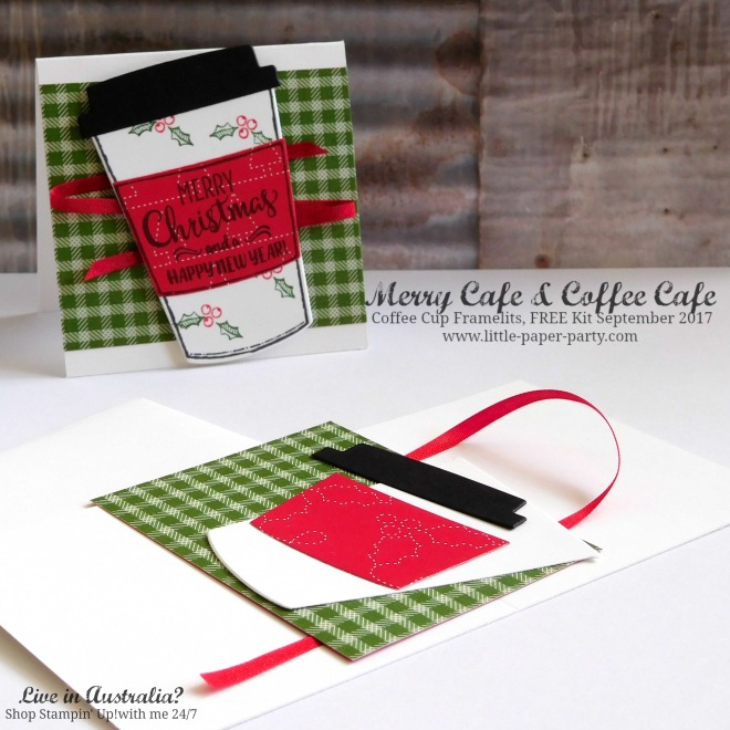 Little Paper Party, Merry Cafe, Coffee Cafe, Coffee Cup Framelits, FREE Kit September 2017, #8.jpg