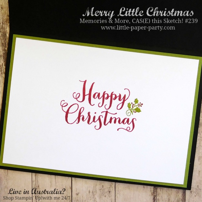 Little Paper Party, Merry Little Christmas Memories & More, Oh, What Fun, CTS#239, #3