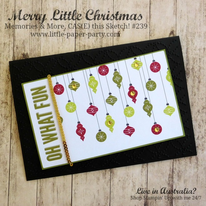 Little Paper Party, Merry Little Christmas Memories & More, Oh, What Fun, CTS#239, #4.jpg