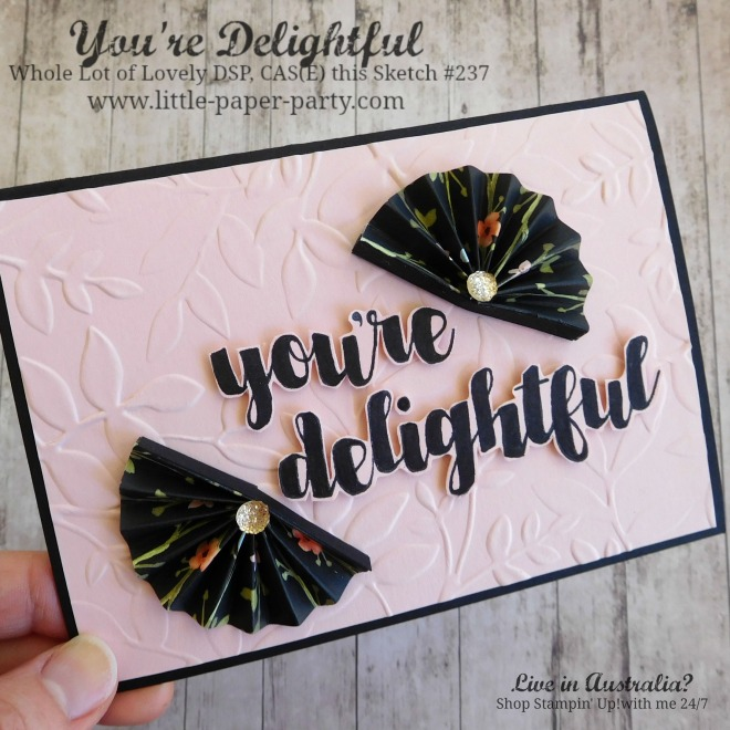 Little Paper Party, You're Delightful, Whole Lot of Lovely DSP, CTS#237, #2