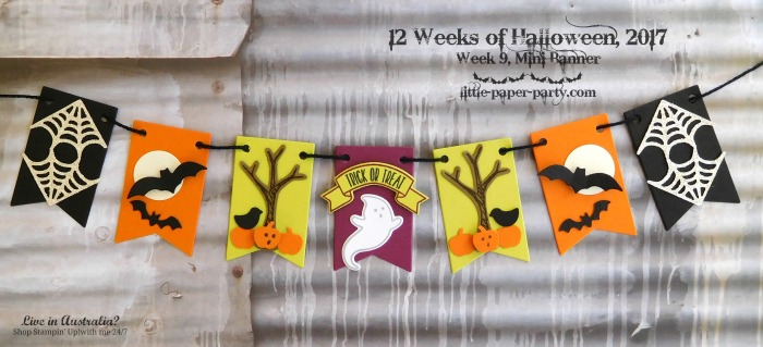 Little Paper Party, 12 Weeks of Halloween 2017, Home Sweet Home Thinlits, Seasonal Tags Framelits, Tree Builder Punch, #2.jpg