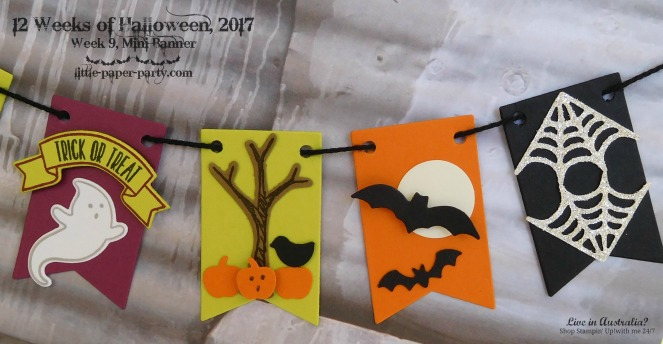 Little Paper Party, 12 Weeks of Halloween 2017, Home Sweet Home Thinlits, Seasonal Tags Framelits, Tree Builder Punch, #4