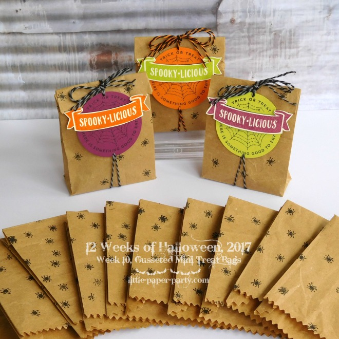 Little Paper Party, 12 Weeks of Halloween 2017, Mini Treat Bag Thinlits, The Little Things, #1.jpg