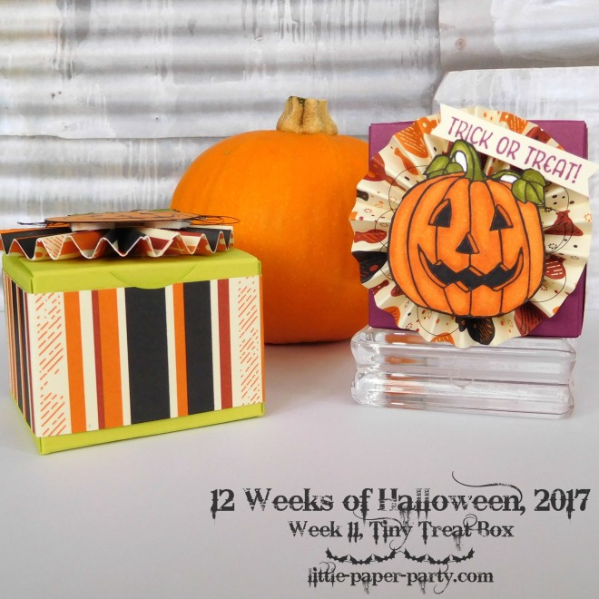 Little Paper Party, 12 Weeks of Halloween 2017, Seasonal Chums, Spooky Night DSP, #2