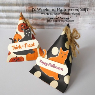 Little Paper Party, 12 Weeks of Halloween 2017, Spooky Cat Bundle, Seasonal Chums Bundle, Spooky Night DSP, #4