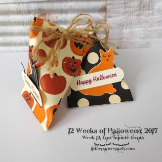Little Paper Party, 12 Weeks of Halloween 2017, Spooky Cat Bundle, Seasonal Chums Bundle, Spooky Night DSP, #5