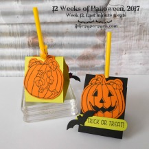 Little Paper Party, 12 Weeks of Halloween 2017, Spooky Cat Bundle, Seasonal Chums Bundle, Spooky Night DSP, #8