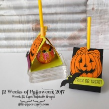 Little Paper Party, 12 Weeks of Halloween 2017, Spooky Cat Bundle, Seasonal Chums Bundle, Spooky Night DSP, #9
