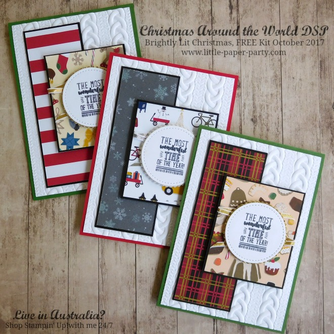 Little Paper Party, Christmas Around the World DSP, Brightly Lit Christmas, FREE Kit October 2017, #2.jpg