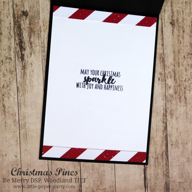 Little Paper Party, Christmas Pines, Be Merry DSP, Woodland TIEF, #4