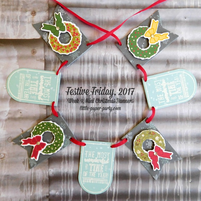 Little Paper Party, Festive Friday 2017, Christmas Around the World DSP, Brightly Lit Christmas Bundle, #2
