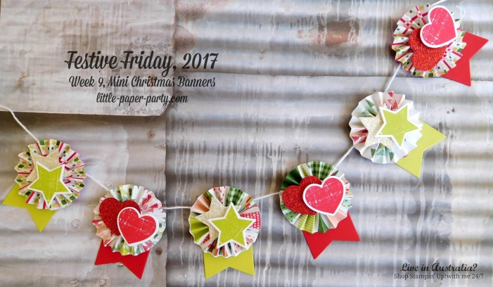 Little Paper Party, Festive Friday 2017, Quilted Christmas DSP, Wood Words Bundle, #4
