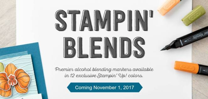 Stampin Blends Header