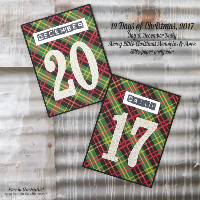 Little Paper Party, 12 Days of Christmas 2017, December Daily, Merry Little Christmas Memories & More, #3
