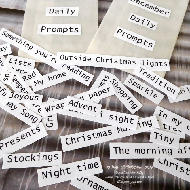 Little Paper Party, 12 Days of Christmas 2017, December Daily, Merry Little Christmas Memories & More, #4