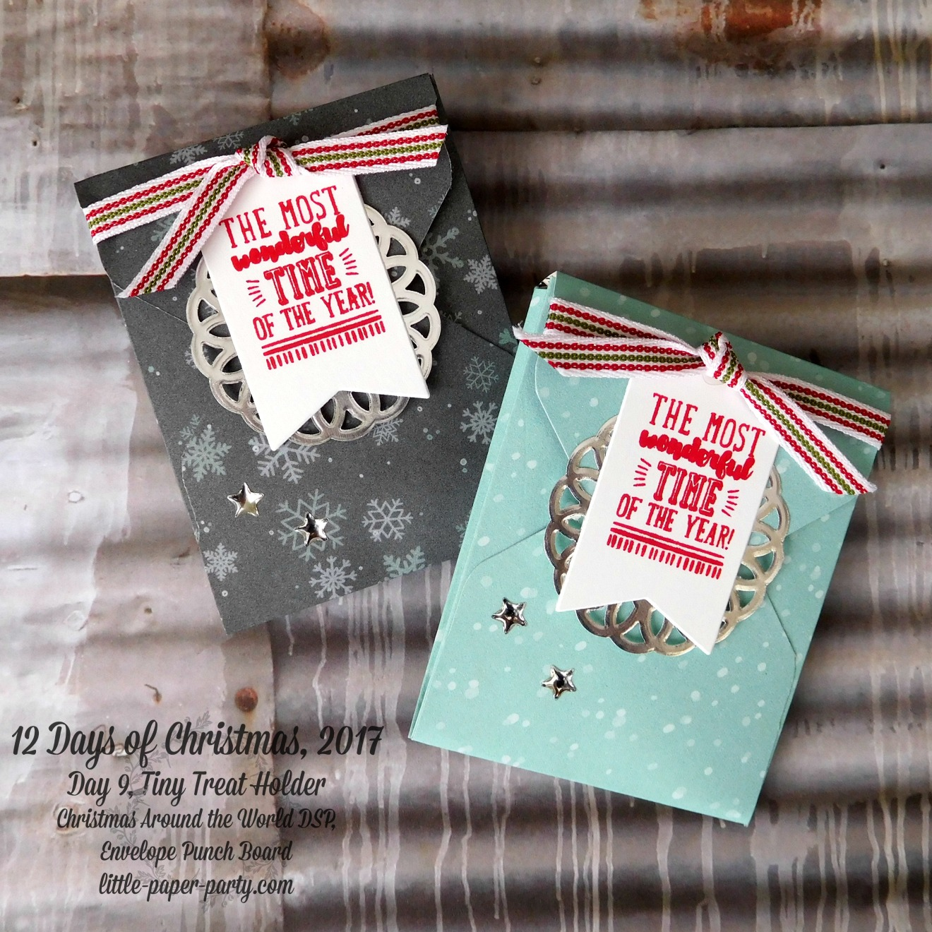 Little Paper Party, 12 Days of Christmas 2017, Brightly Lit Christmas, Christmas Around the World DSP, Envelope Punch Board, #4.jpg
