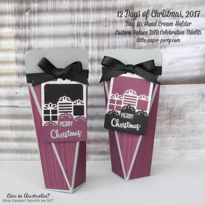 Little Paper Party, 12 Days of Christmas 2017, Eastern Palace DSP, Celebration Thinlits, #1