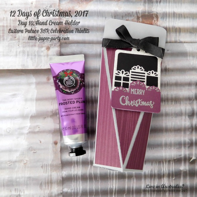 Little Paper Party, 12 Days of Christmas 2017, Eastern Palace DSP, Celebration Thinlits, #3