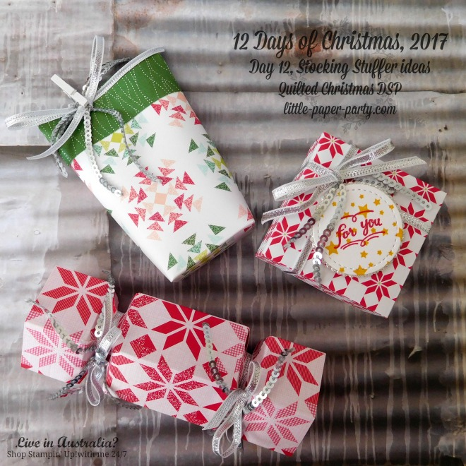 Little Paper Party, 12 Days of Christmas, Quilted Christmas DSP, Wood Words, #2