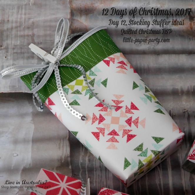 Little Paper Party, 12 Days of Christmas, Quilted Christmas DSP, Wood Words, #3