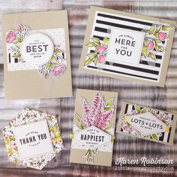 Little Paper Party, Lots of Happy Card Kit, #1