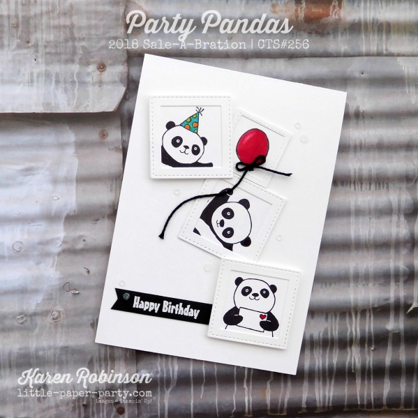 Little Paper Party, Party Pandas, CTS#256, #1