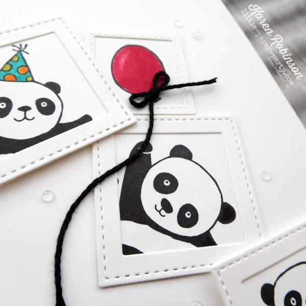 Little Paper Party, Party Pandas, CTS#256, #2