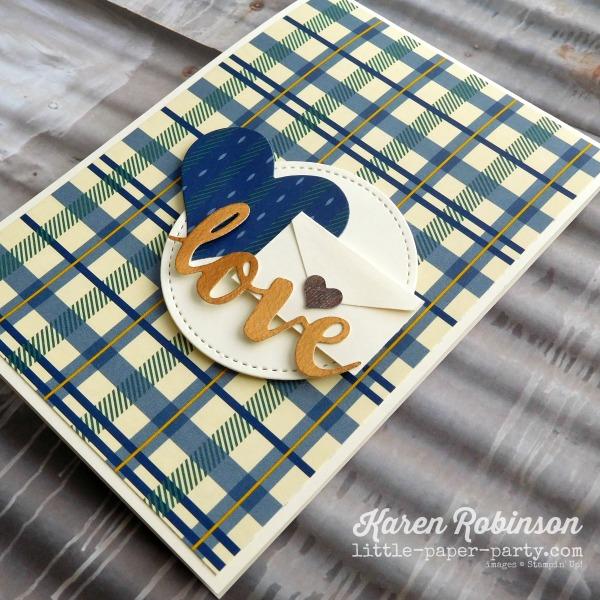 Little Paper Party, True Gentleman DSP, Sunshine Wishes Thinlits, Mini Treat Bag Thinlits, #3