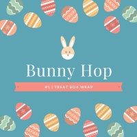 Bunny Hop | Tiny Treat Box Wrap