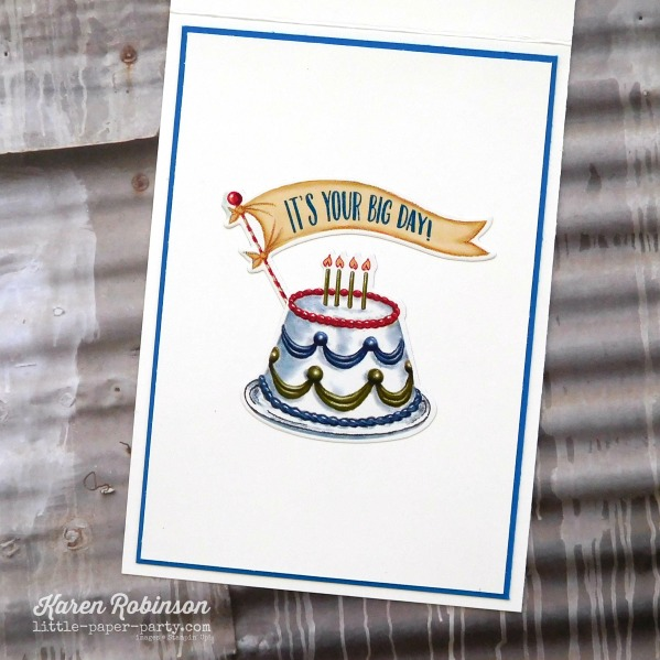 Little Paper Party, Birthday Delivery Bundle, Celebrate You Thinlits, CTS#258, #4