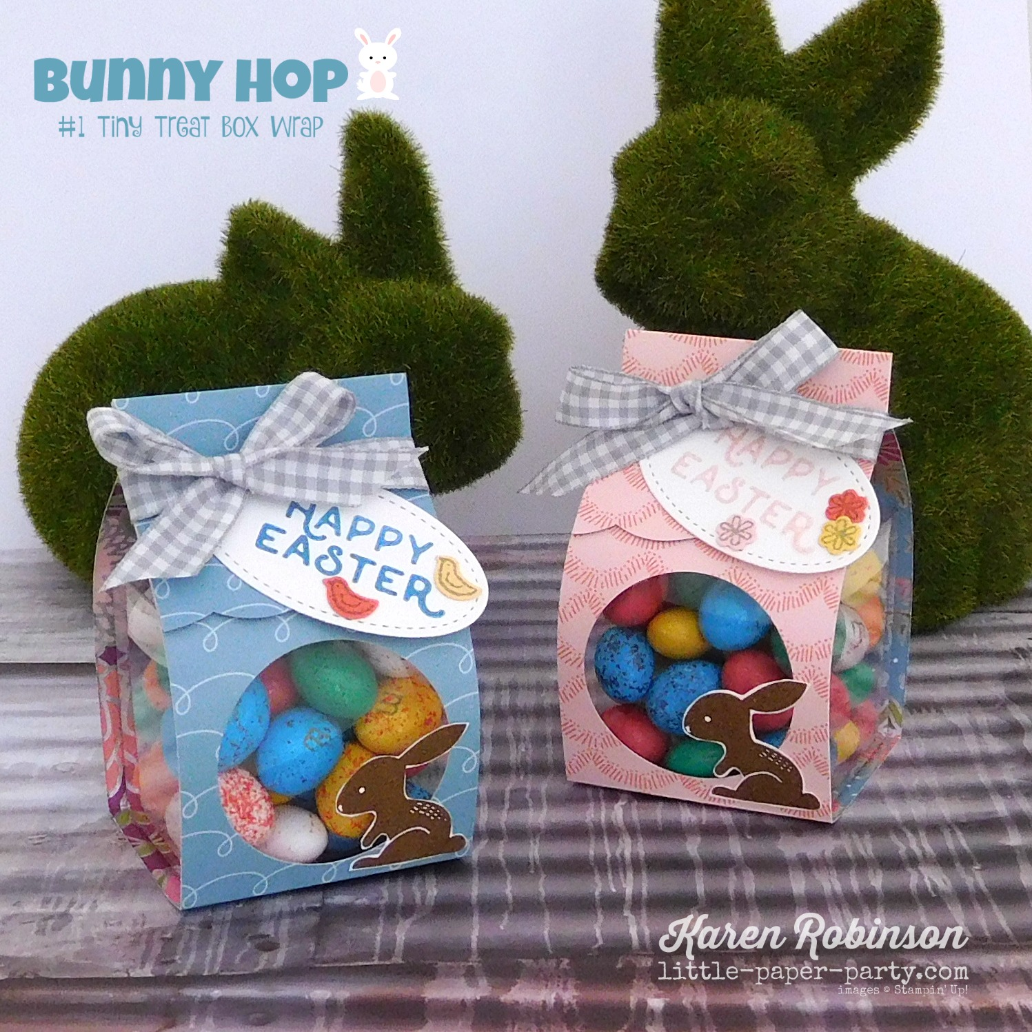 Little Paper Party, Bunny Hop 2018, Hello Easter, Sweet Soiree DSP, Clear Tiny Treat Boxes, #4.jpg