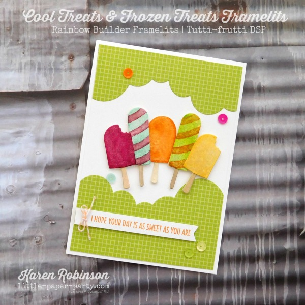 Little Paper Party, Cool Treats, Frozen Treats Framelits, Rainbow Builder Framelits, #1.jpg