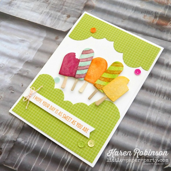 Little Paper Party, Cool Treats, Frozen Treats Framelits, Rainbow Builder Framelits, #3