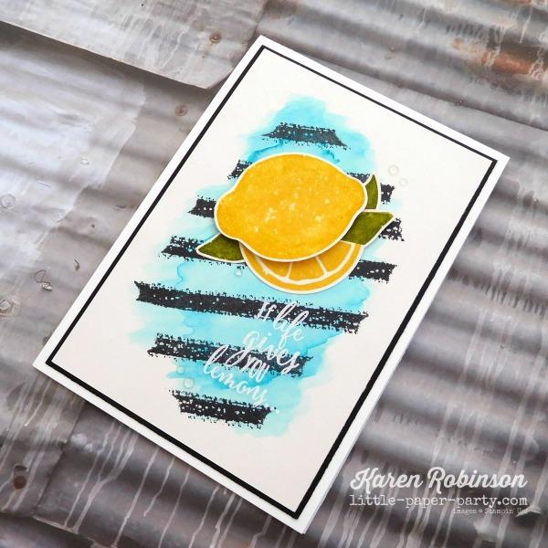 Little Paper Party, Lemon Zest Bundle, Work of Art, #3