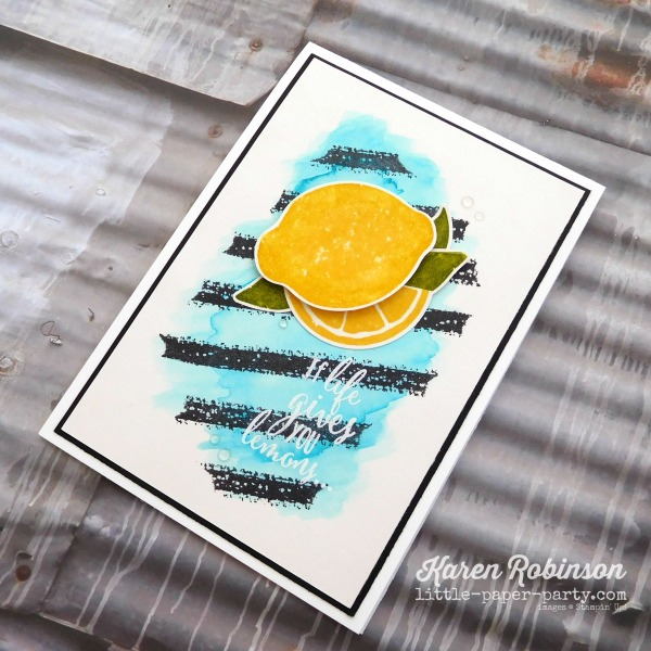 Little Paper Party, Lemon Zest Bundle, Work of Art, #3