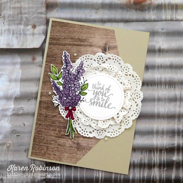 Little Paper Party, Lots of Lavender, Eastern Beauty, Wood Textures DSP, #6
