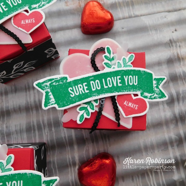 Little Paper Party, Sure Do Love You Bundle, Patal Passion DSP, Treat Box, #3