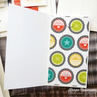 Little Paper Party, Tabs for Everything, Bubbles & Fizz DSP, Lots to Love Box Framelits, #4