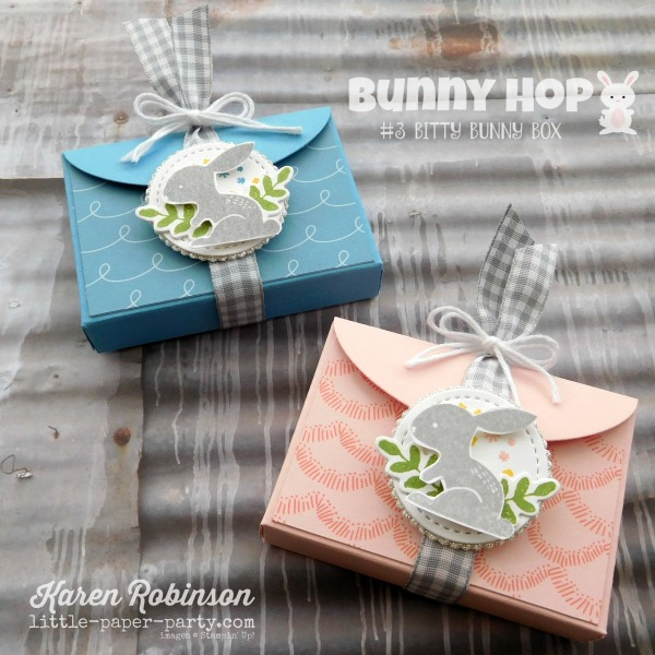 Little Paper Party, Bunny Hop 2018, Lots to Love Framelits, Hello Easter, Sweet Soiree DSP, #2