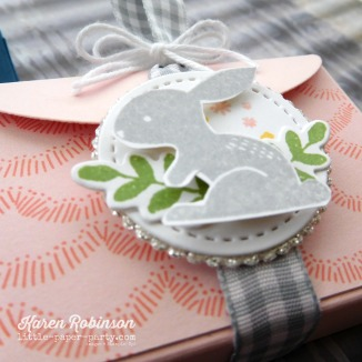 Little Paper Party, Bunny Hop 2018, Lots to Love Framelits, Hello Easter, Sweet Soiree DSP, #3