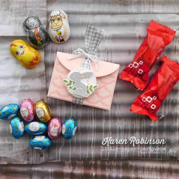 Little Paper Party, Bunny Hop 2018, Lots to Love Framelits, Hello Easter, Sweet Soiree DSP, #5