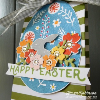 Little Paper Party, Bunny Hop 2018, Sweet Soiree DSP, Hello Easter, Bloomin' Love, #3