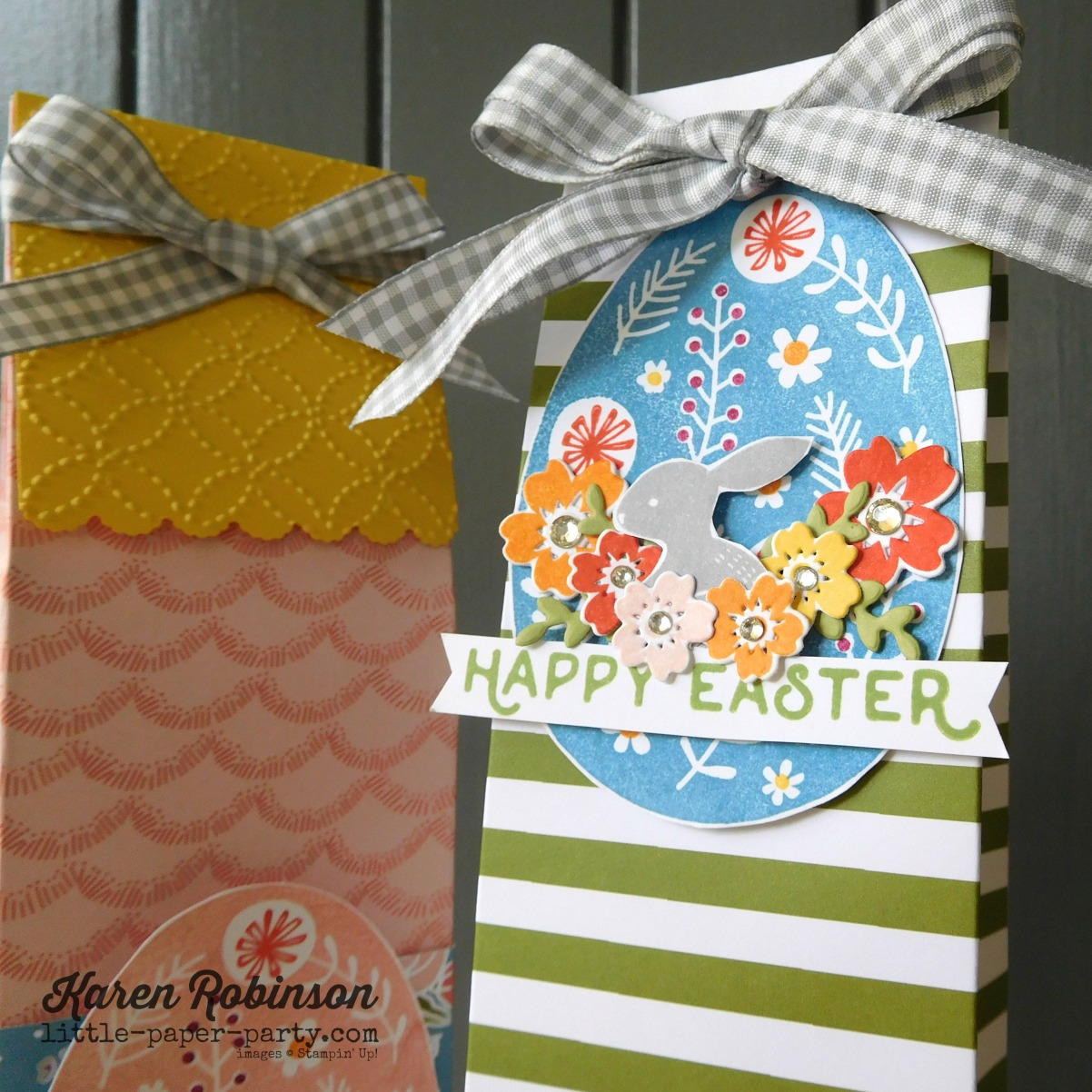 Little Paper Party, Bunny Hop 2018, Sweet Soiree DSP, Hello Easter, Bloomin' Love, #4.jpg