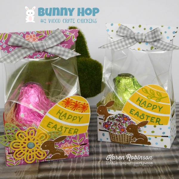 Little Paper Party, Bunny Hop 2018, Wood Crate Framelits, Sweet Soiree DSP, Hello Easter, #2.jpg