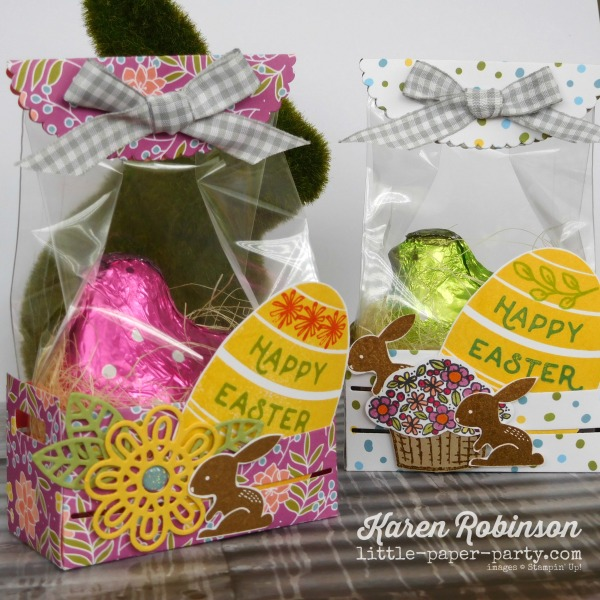 Little Paper Party, Bunny Hop 2018, Wood Crate Framelits, Sweet Soiree DSP, Hello Easter, #4