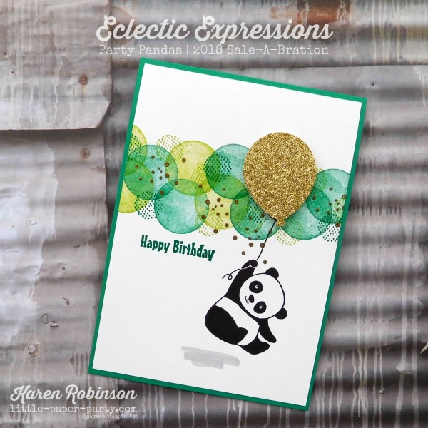 Little Paper Party, Eclectic Expressions, Party Pandas, 2018 Sale-A-Bration, #1.jpg